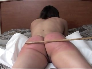 Here is my slut. Stella. She has a complete nuisance for a caning punishment.