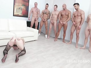 7on1 Gangbang Beside Sara Bell Dap Double Make Love - SHAG MOVIE