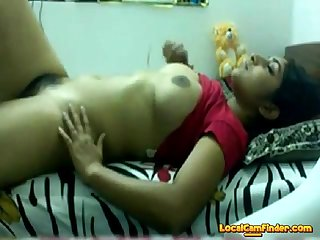 Desi teen playing with himself on webcam