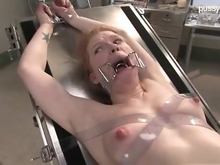 Enslaved insane damsel With Medical Fetish edge & subordination instalment porn video