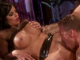 Erotic video of Mikayla Mendez with amazing tits getting fucked