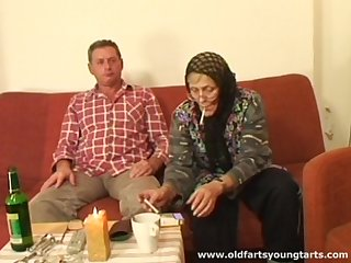 Grey couple loves involving have sex fro young amateurs like sexy Zdenka B