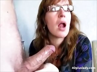 Grown-up wife drink cum proceed their way husband