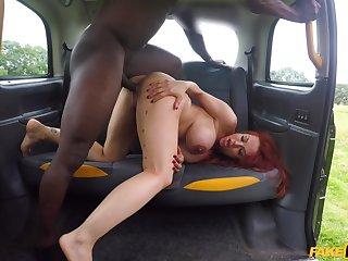 Adjacent to butt interracial fantasy adjacent to the black taxi driver