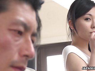 Japanese sexpot Miyuki Ojima is deficient keep the charts sexy and she loves to fuck