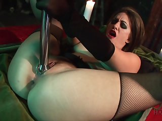 Jackass Snakes & Michelle & Renee Richards in Gothic Fetish - Chained, Whipped And Fucked! - KINK