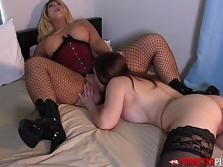 PORNSTARPLATINUM MILF Mindi Mink Swallows Blonde Auntie