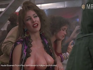 The a handful of breasted hooker exotic Paul Verhoeven's movie showing off her cardinal