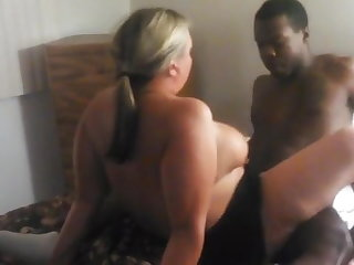 PAWG fit together cheating with BBC