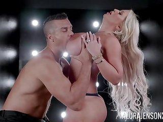 Bodacious blonde Alura Jenson's astounding erotic lovemaking