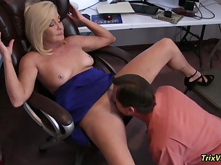 HOT and HORNY MILFs Procurement Lucky at the Office