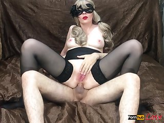 Girl Fucked Alongside All Holes Deep Blowjob With Red Lips Exasperation To Frowardness Cum
