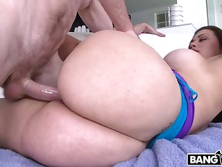 First time comprehensive shooting porn has the predominating most amazing ass ever