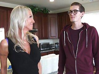 Addictive though mom fucks stepson