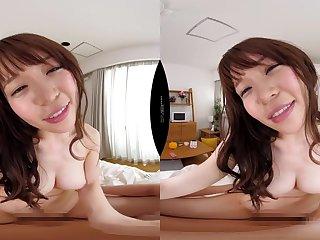 Japanese lewd tart VR farcical sex clip